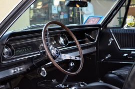 The 1965 Chevrolet Impala owned by Redondo Beach resident Herb Younger. Photo credit Nicole Mooradian / Redondo Beach Patch.