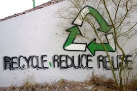 """Recycle, reduce, reuse,"" by Kevin Dooley. CC BY 2.0."